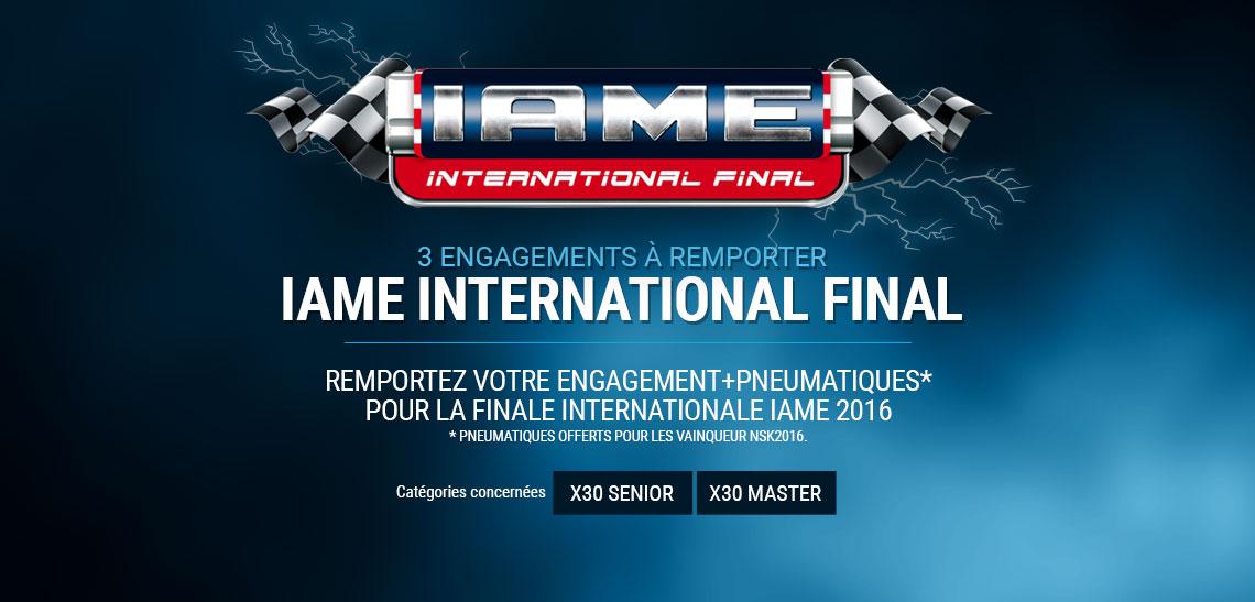IAME International Final