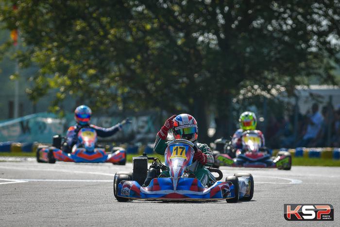 Nicolas Picot en Rotax Max s'impose après un bel effort !