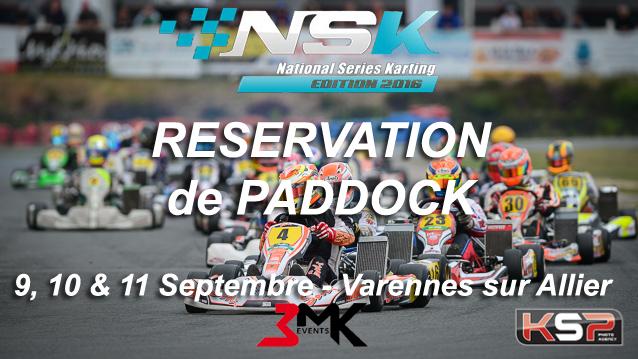 NSK Varennes - Réservation de paddock