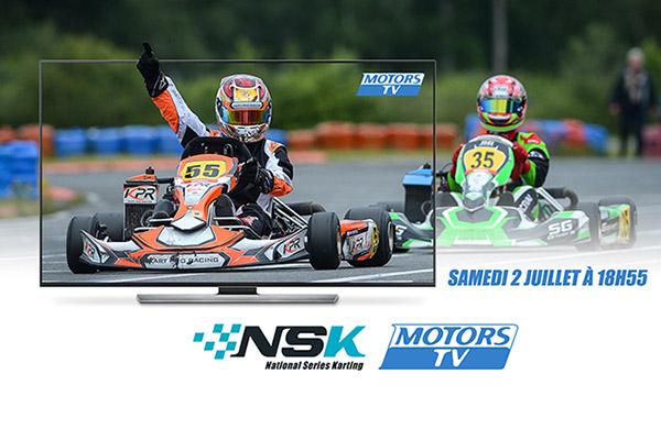 Emission consacrée aux NSK sur MotorsTV !