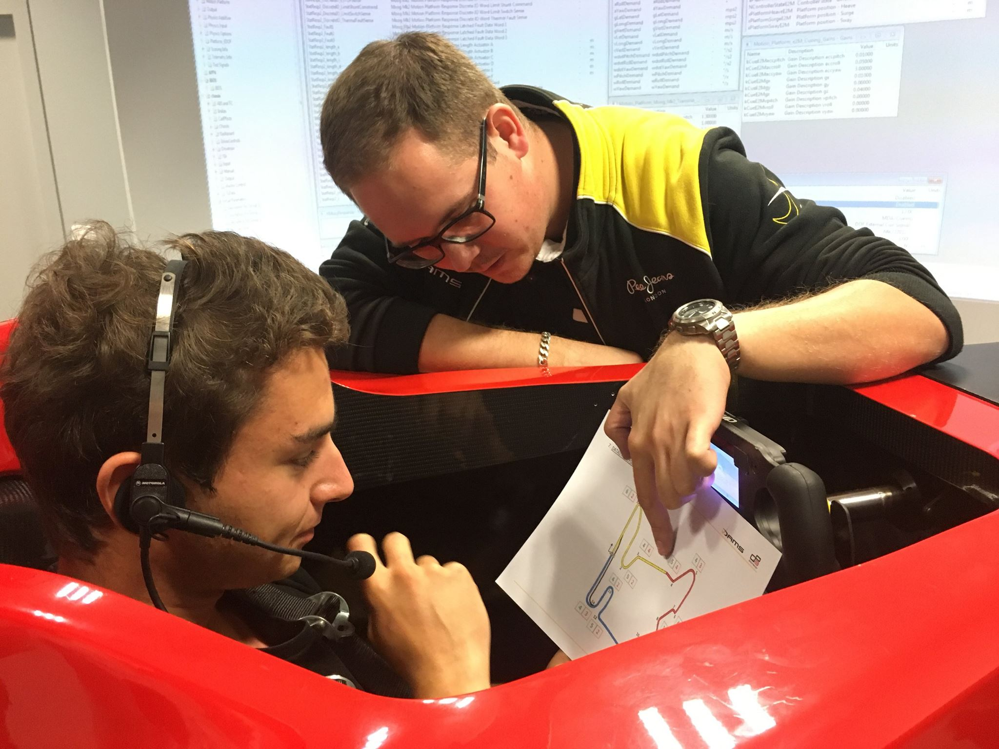 Marc Cammarata & Victor Bernier chez DAMS !