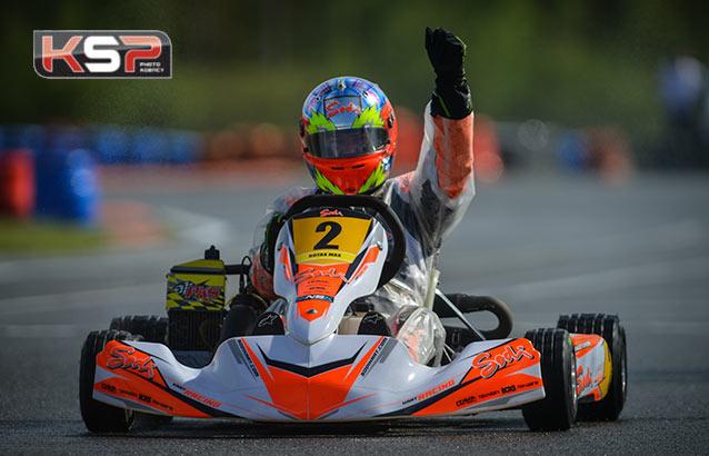Rotax Max: Arnaud Sarrazin en patron