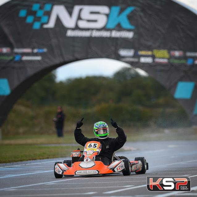 Nomblot conclut par la victoire en Rotax Max
