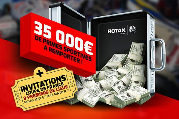 Rotax – 35 000€ de primes à remporter !