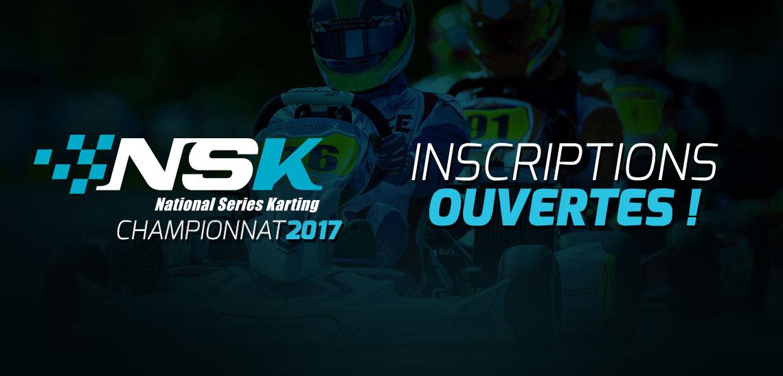 Ouverture des inscriptions à la NSK 2017 !!!