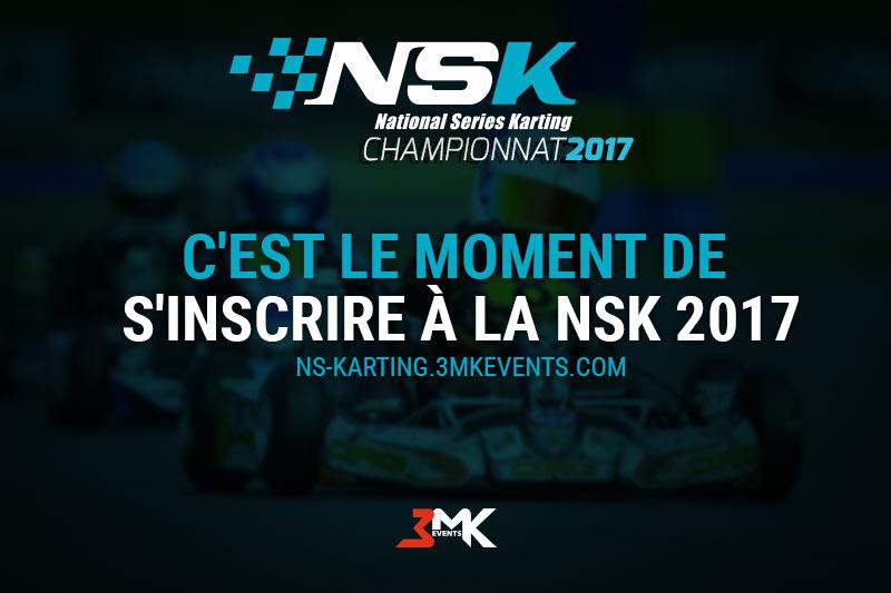 C'est le moment de s'inscrire à la NSK 2017