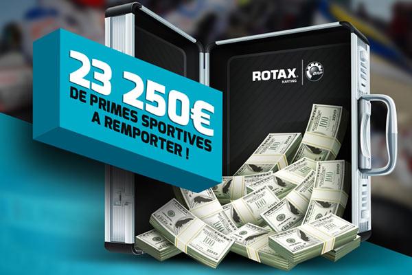 23 250 € de primes à remporter en Max et Max Master !