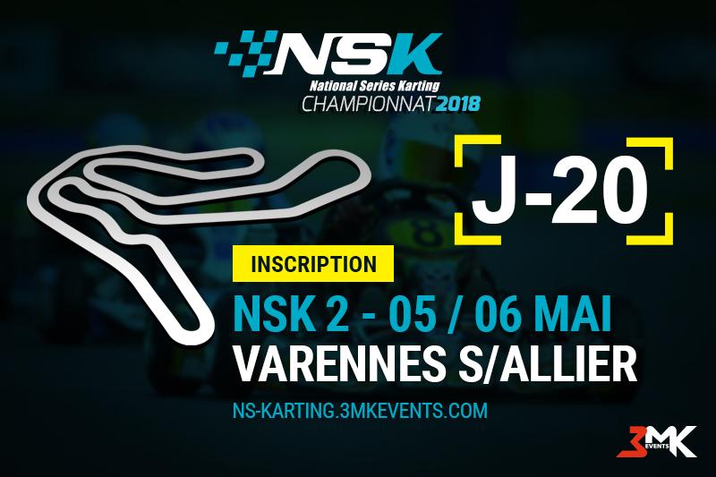 NSK - Varennes s/ Allier: J-20