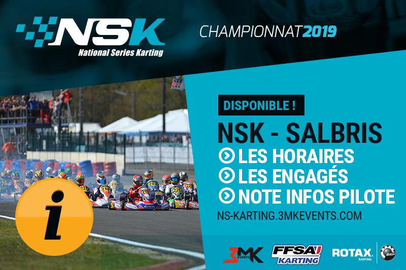 NSK Salbris : Les Infos