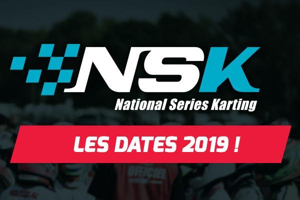 calendrier 2019 du Championnat NSK