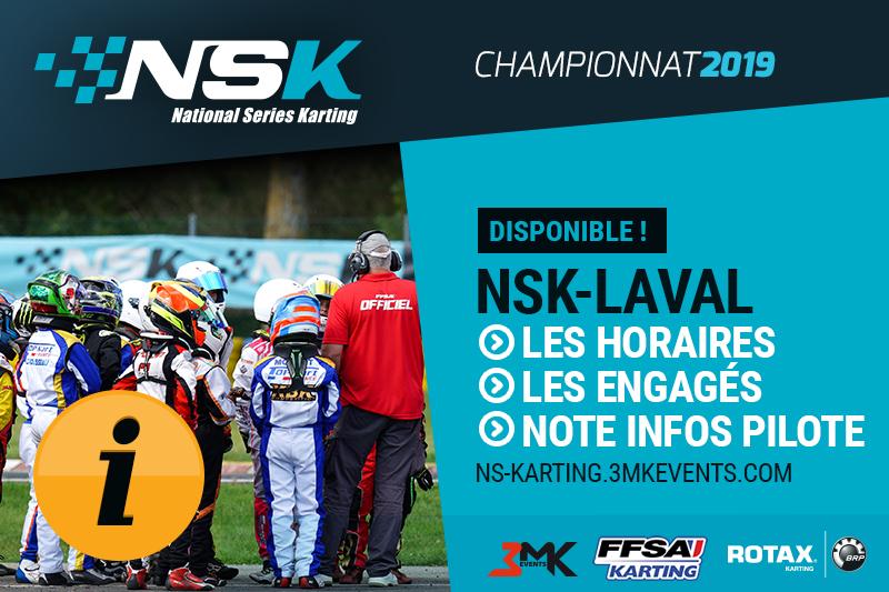 NSK LAVAL : LES INFOS