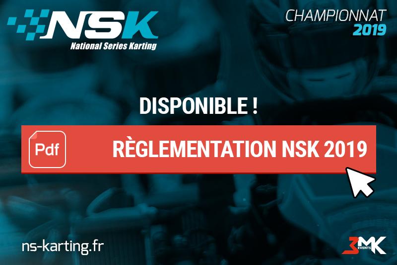 Règlementation NSK 2019