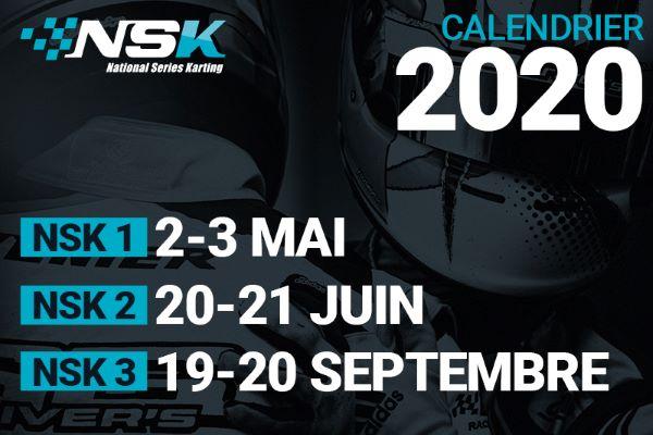 Calendrier 2020 du Championnat NSK