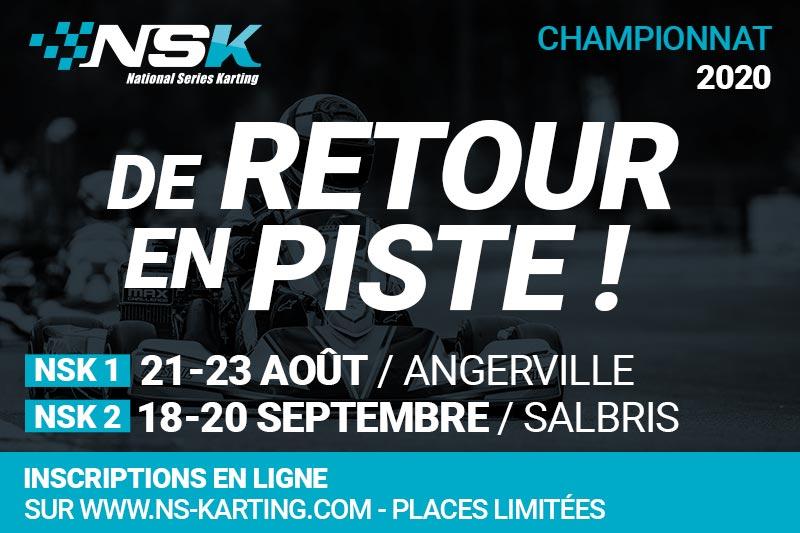 LE CHAMPIONNAT NSK FAIT SON RETOUR !