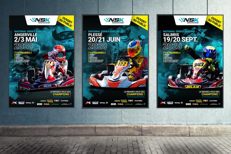 Les affiches de la NSK 2020 dévoilées !
