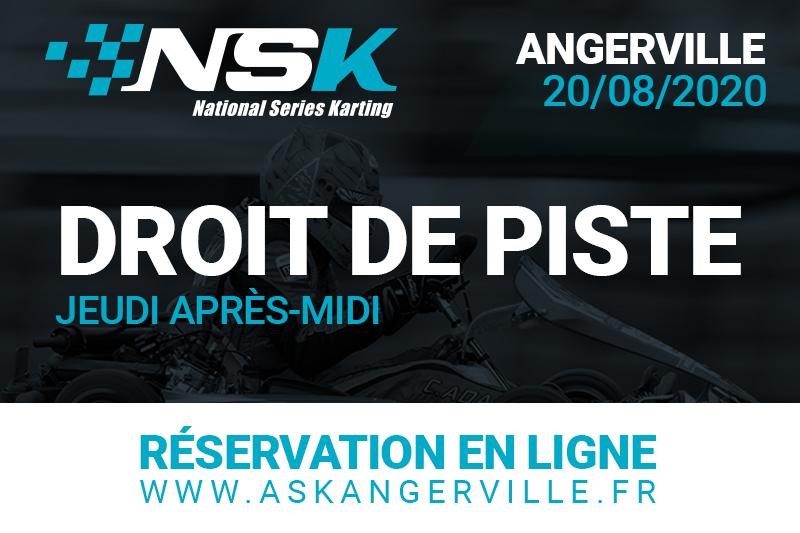 NSK ANGERVILLE : DROIT DE PISTE