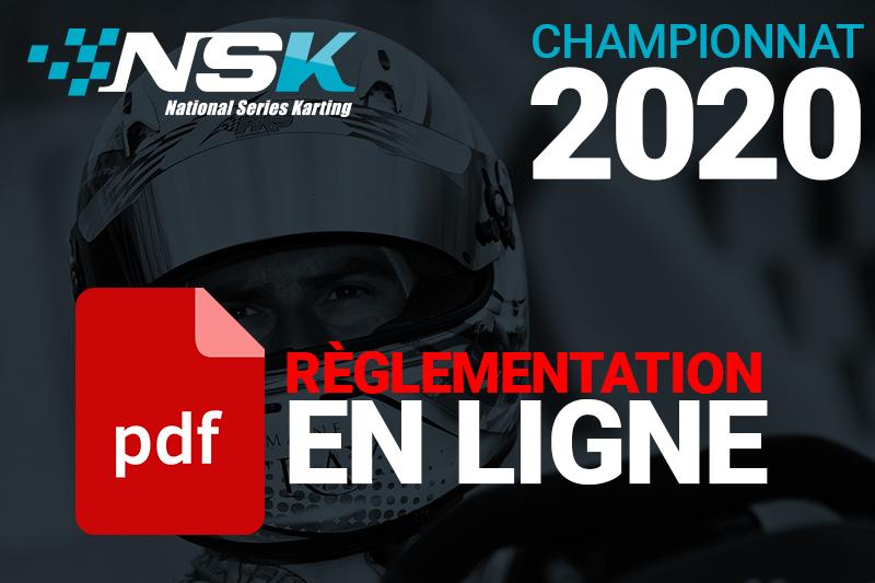 Règlementation NSK 2020