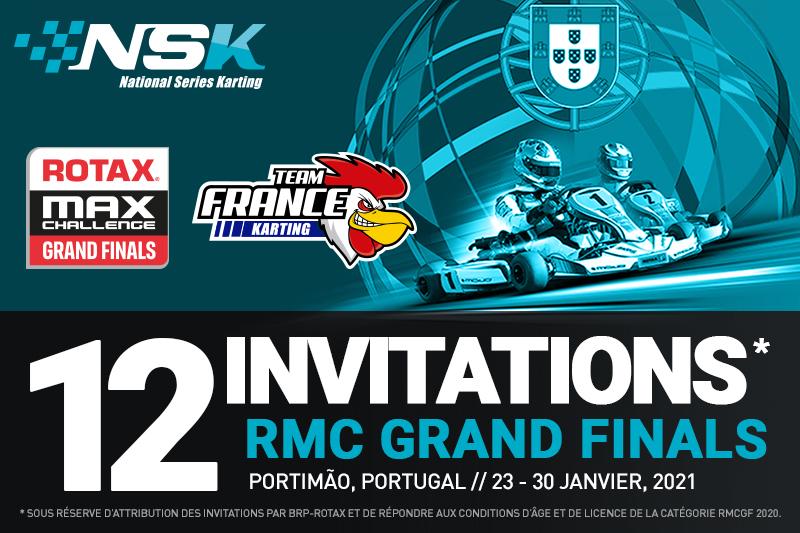 12 INVITATIONS RMC GRAND FINALS A REMPORTER !