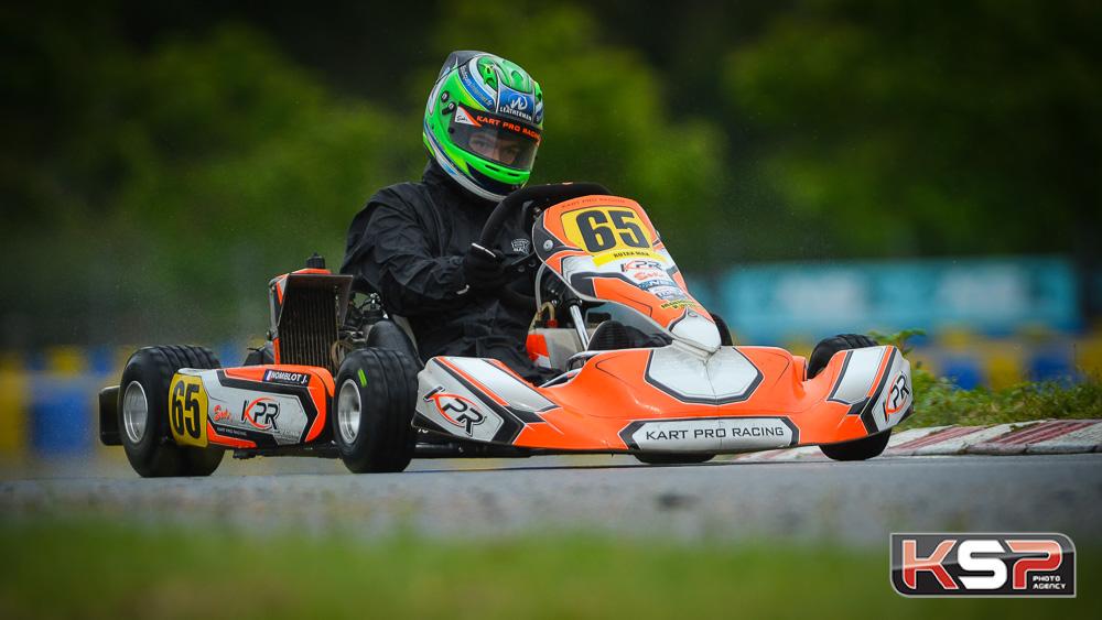 Jean Nomblot n'a pas faibli pour gagner en Rotax Max